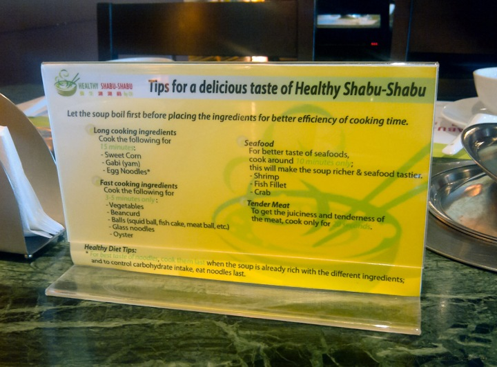 Healthy Shabu Shabu