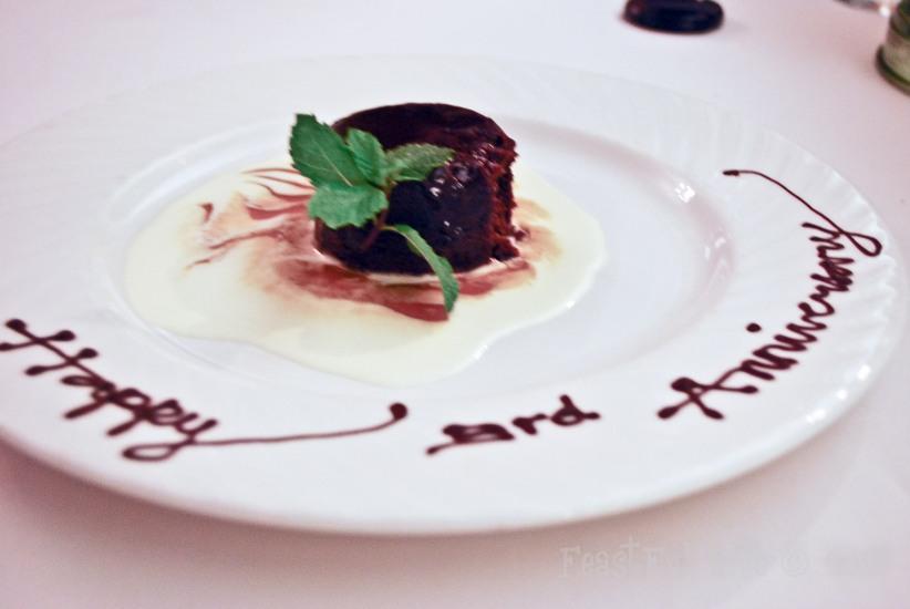 Dessert : Sticky Dates Pudding
