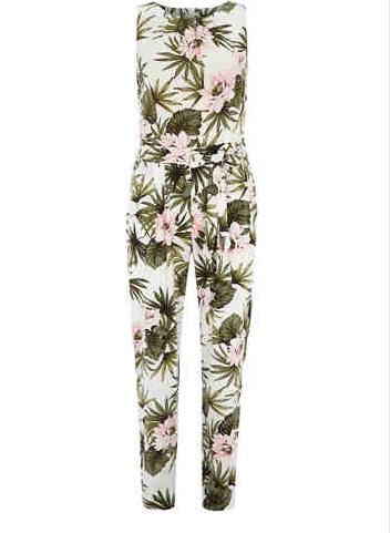Floral Fern Jumpsuit